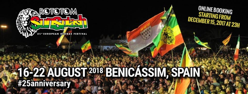 Фестиваль Rototom Sunsplash 2018. Регги в Беникассиме