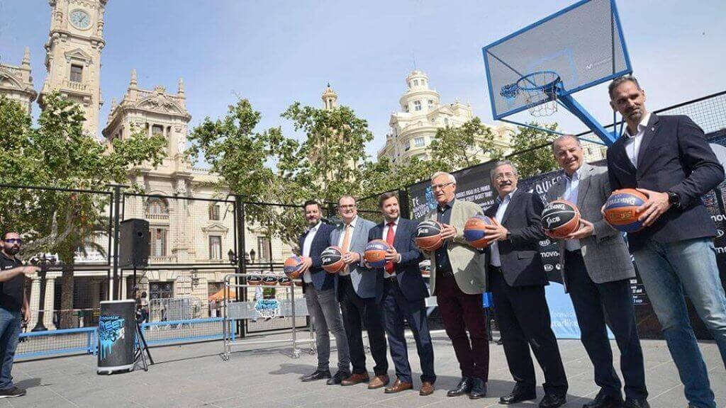Финал Movistar Street Basket Tour в Валенсии