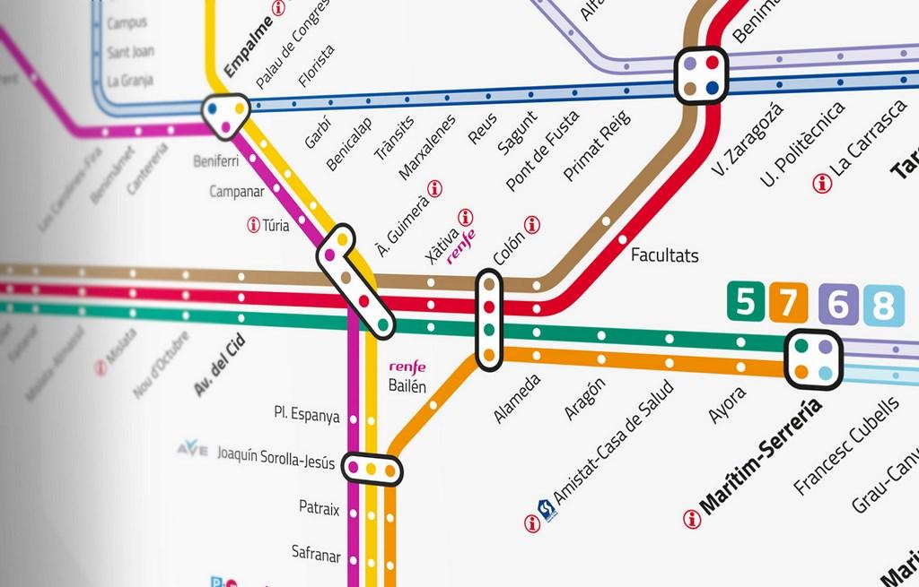 Obnovlyonnaya Karta Metro Valensii